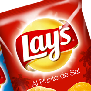 Special Edition Summer of the packs Al Punto de Sal, Vinaigrette and Peasants of the brand Lay's. Design with fresh touch and casual only for the summer.